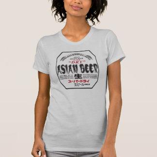T-shirt asiático da cerveja