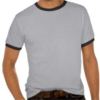 T-shirt asiático da letra do dragão vermelho -