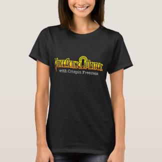 T-shirt ativo do logotipo do domínio da voz - camiseta