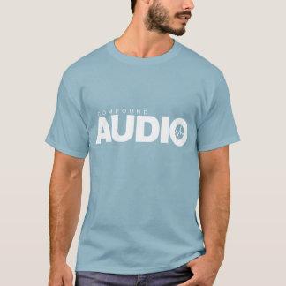 T-shirt audio composto camiseta