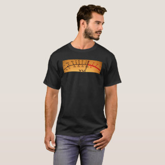 T-shirt audio do VU Camiseta