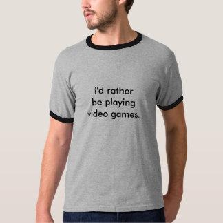 T-shirt Bamboozled customizável do video games