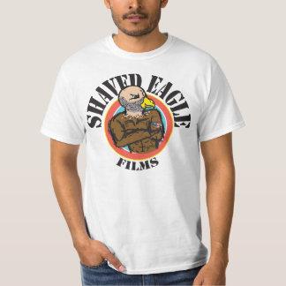 T-shirt barbeado do valor dos filmes de Eagle Camiseta