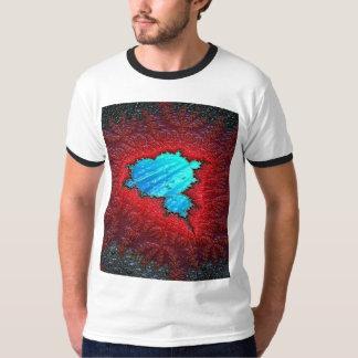 T-shirt básico da campainha dos homens camiseta