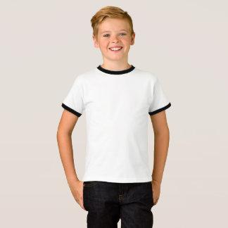 T-shirt básico da campainha dos miúdos camiseta
