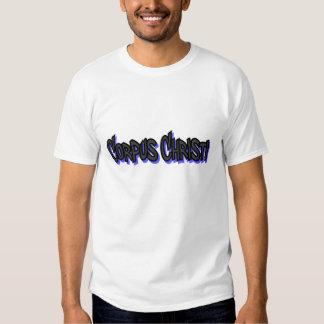 T-shirt básico dos grafites de Corpus Christi,
