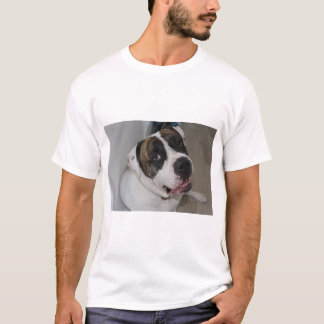 T-shirt básico para homem, Branco a personalizar Camiseta