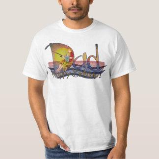 T-shirt birhday felizes da pesca do pai & do filho