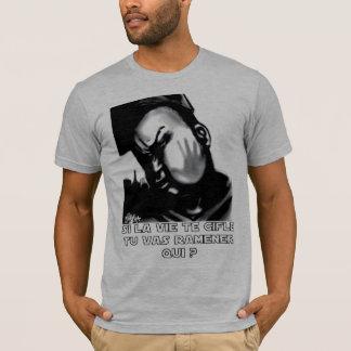 """t-shirt """"Bofetada"""" cinzentos Camiseta"""