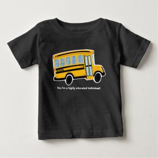 T-shirt bonito do auto escolar - bebê - criança - camiseta para bebê