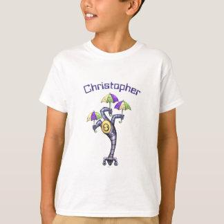 T-shirt BONITO do Hanes TAGLESS® dos miúdos do Camiseta