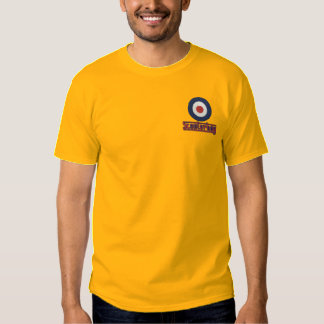 T-shirt bordado dos homens do patinete menino