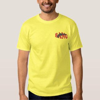 T-shirt bordado golpe