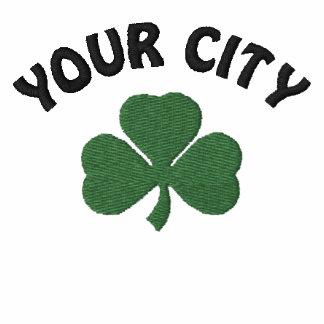 T-shirt bordado irlandês personalizado
