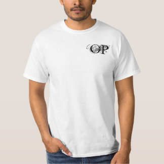 T-shirt branco Overpowered
