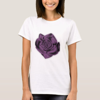 T-shirt cabido rosa do roxo camiseta