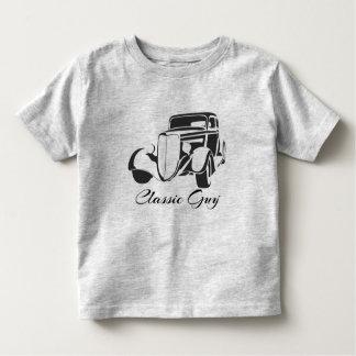 T-shirt clássico da criança da cara camiseta infantil