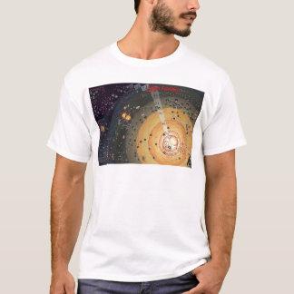 T-shirt, colonização da fronteira alta camiseta
