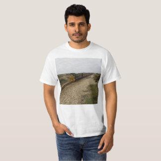 T-shirt com imagem diesel do trem camiseta
