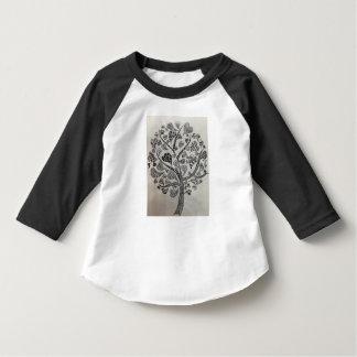 T-shirt completo da luva da criança com design