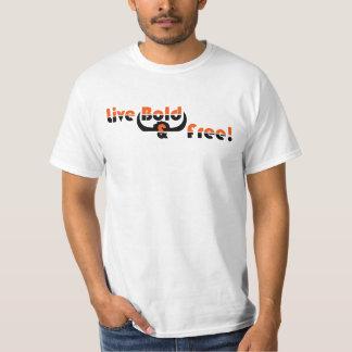 T-shirt corajoso vivo camiseta