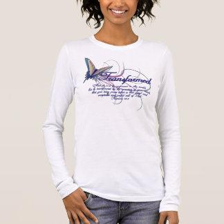 T-shirt cristão: Camisa transformada do verso da
