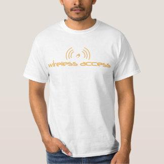 T-shirt cristão do VALOR: Acesso sem fio (oração)