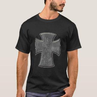 T-shirt cristãos. Camisas do motociclista