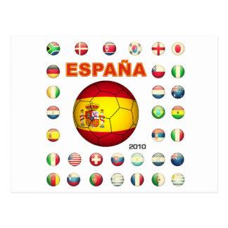 T-shirt d7 de Espana Cartão Postal