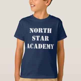 T-shirt da academia da estrela norte camiseta