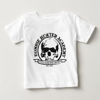 T-shirt da academia do caçador do zombi camiseta para bebê