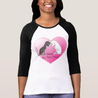T-shirt da adopção do animal de estimação