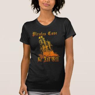 T-shirt da angra dos piratas das mulheres