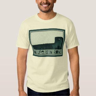 T-shirt da arqueologia