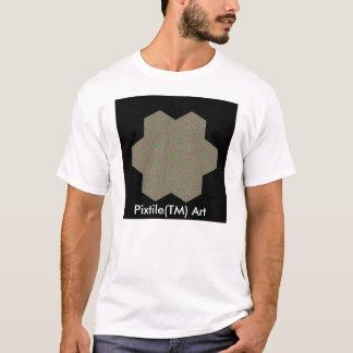T-shirt da arte de Pixtile™ Camiseta