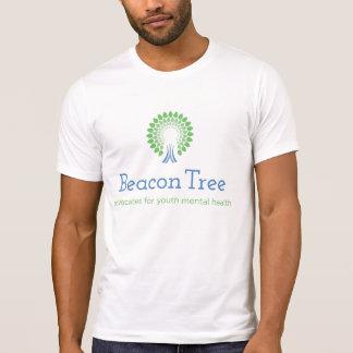 T-shirt da árvore da baliza dos homens camiseta