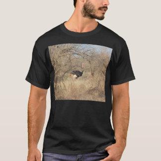 T-shirt da avestruz, coleção africana do safari camiseta