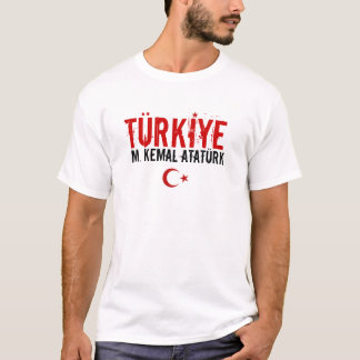 T-shirt da baía de Turkiye Camiseta