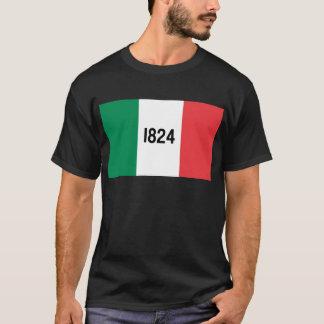 T-shirt da bandeira de Alamo Camiseta