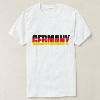 T-shirt da bandeira de ALEMANHA Camiseta