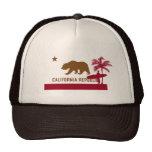T-shirt da bandeira de Califórnia - surfista na pr Bones