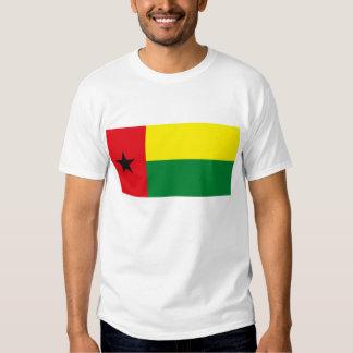T-shirt da bandeira de Guiné-Bissau