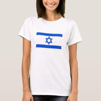 T-shirt da bandeira de Israel (mulheres) Camiseta