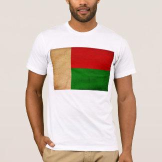 T-shirt da bandeira de Madagascar
