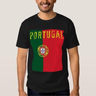T-shirt da bandeira de Portugal