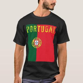 T-shirt da bandeira de Portugal Camiseta