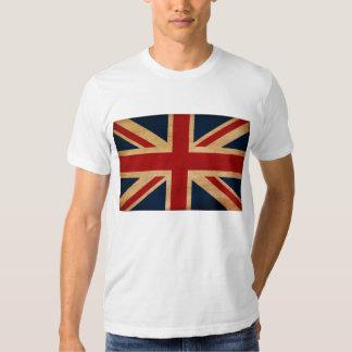 T-shirt da bandeira de Reino Unido