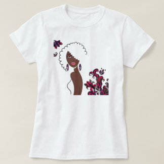 T-shirt da beleza de Afrocentric