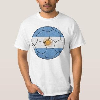 T-shirt da bola de futebol de Argentina