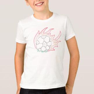 T-shirt da bola de futebol de Flamin Camiseta